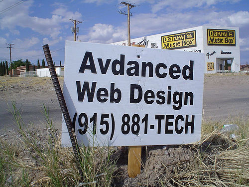 Advanced web design (by agjimenez on Flickr)