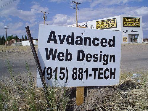 Advanced web design (by agjimenez on Flickr)